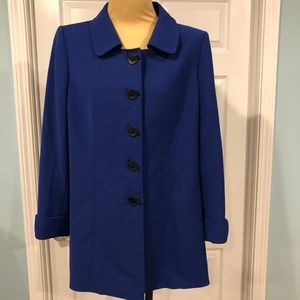 Tahari Arthur S. Levine Royal Blue Jacket size 12